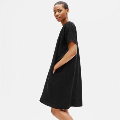 Organic Handkerchief Linen Boxy Dress