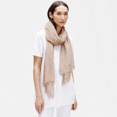 Handloomed Airy Organic Cotton Wrap