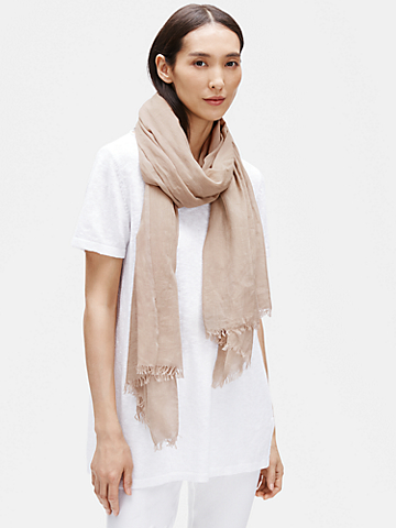 Handloomed Airy Organic Cotton Wrap