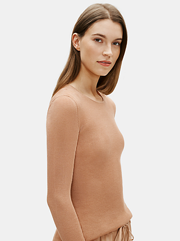 Limited Edition Sheer Organic Cotton Slim Top