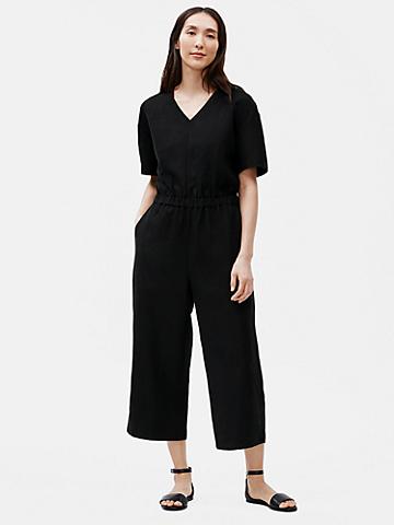 Tencel & Organic Linen Slub Jumpsuit