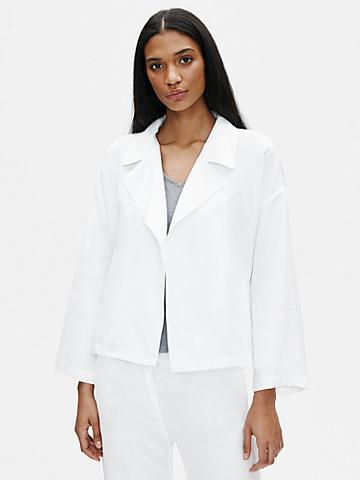 Tencel & Organic Linen Slub Jacket