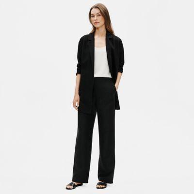 Tencel & Organic Linen Slub Blazer