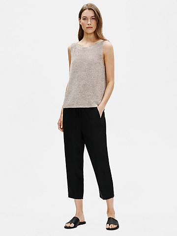 Tencel & Organic Linen Slub Easy Pant