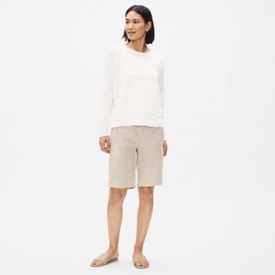 Organic Linen Shorts