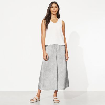 Drift Silk Organic Cotton Culotte Pant