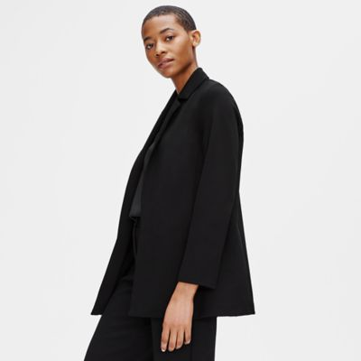 Flex Tencel Ponte Notch Collar Jacket