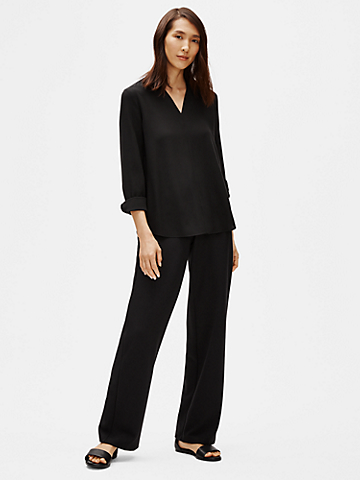 Flex Tencel Ponte Straight Pant