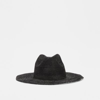 Mar Y Sol for EILEEN FISHER Crocheted Raffia Hat