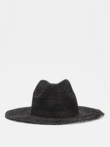 Mar Y Sol for EILEEN FISHER Crocheted Raffia Hat