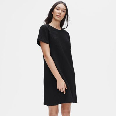 Tencel & Organic Cotton Honeycomb Dress