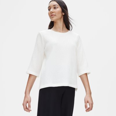 Tencel & Organic Cotton Honeycomb Box-Top