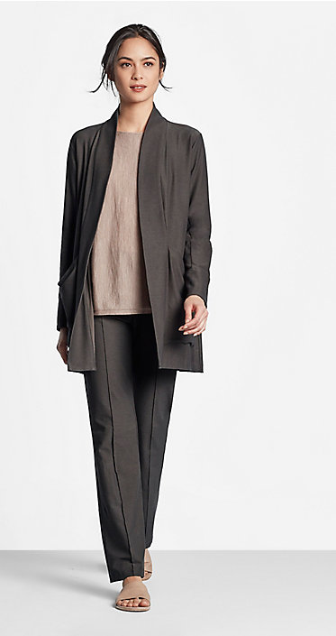 Our favorite june looks styles for women eileen fisher for Youtube certified mechanic shirt