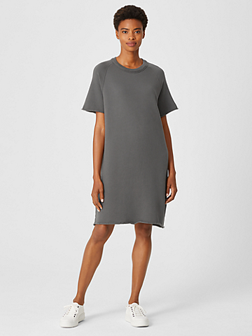Organic Cotton French Terry Dress