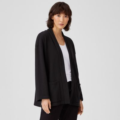 Organic Cotton French Terry Jacket