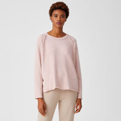 Organic Cotton French Terry Boxy Top