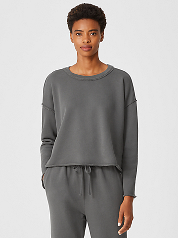 Organic Cotton French Terry Box-Top