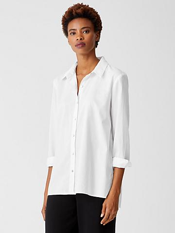 Organic Cotton Lightweight Twill Shirt