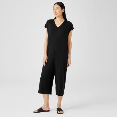 Fine Jersey Wide-Leg Jumpsuit