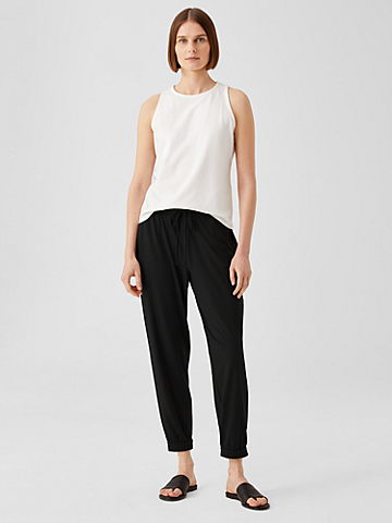 Fine Jersey Jogger Pant