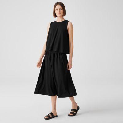 Fine Jersey Flare Skirt