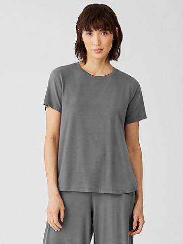 Fine Jersey Short-Sleeve Tee