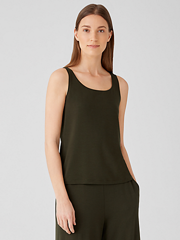 Fine Jersey Scoop Neck Tank