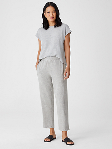 Cozy Brushed Terry Lantern Pant
