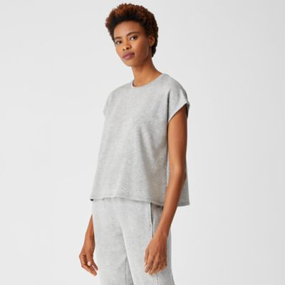 Cozy Brushed Terry Square Top