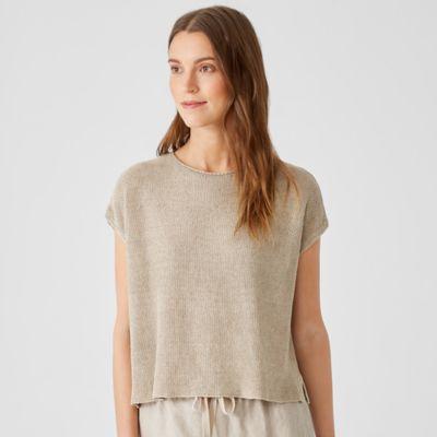Organic Linen Delave Square Top