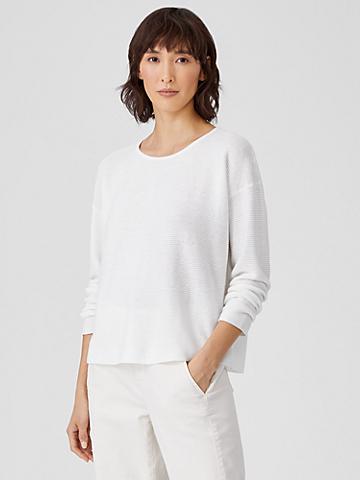 Organic Linen Cotton Box-Top