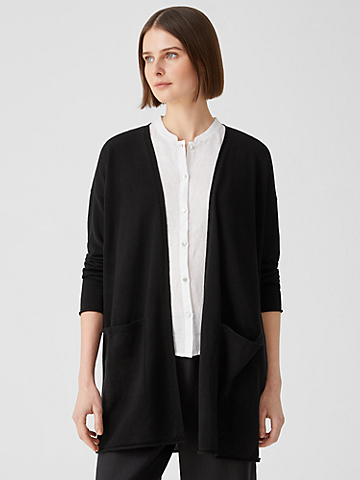 Organic Linen Cotton Cardigan