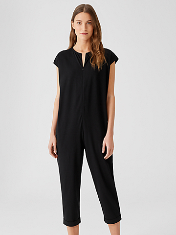 Traceable Organic Cotton Jersey Jumpsuit