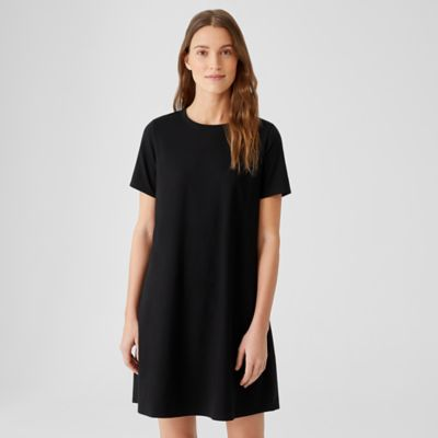 Traceable Organic Cotton Jersey Crew Neck Dress