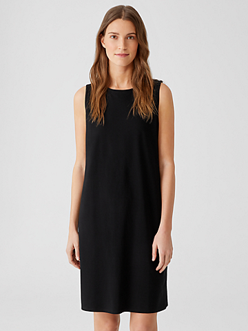Traceable Organic Cotton Jersey Tank Dress