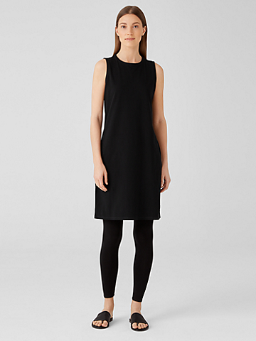 Traceable Organic Cotton Jersey Racer-Back Tank Dress