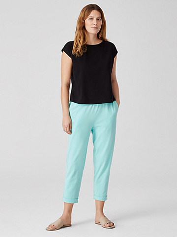 Traceable Organic Cotton Jersey Pant