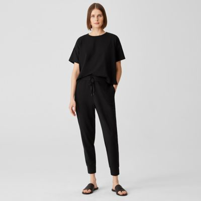 Traceable Organic Cotton Jersey Jogger Pant