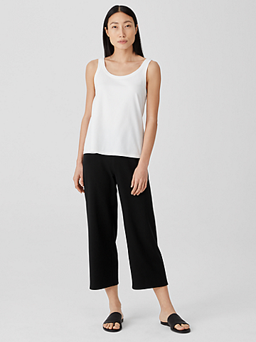 Traceable Organic Cotton Jersey Straight Pant