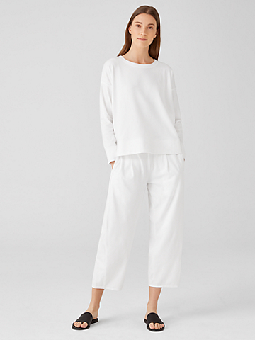 Traceable Organic Cotton Jersey Lantern Pant