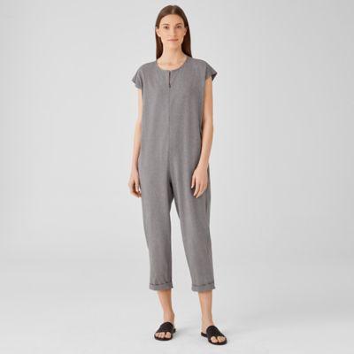 Heathered Organic Cotton Jumpsuit