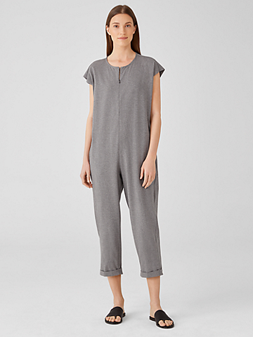 Heathered Organic Cotton Jumpsuit