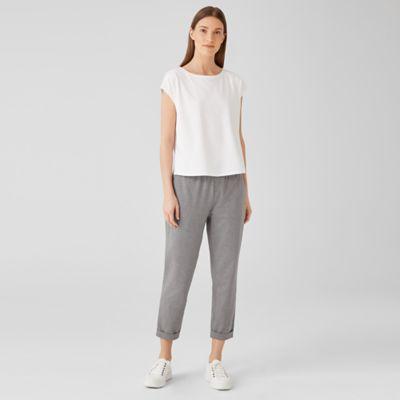 Heathered Organic Cotton Pant