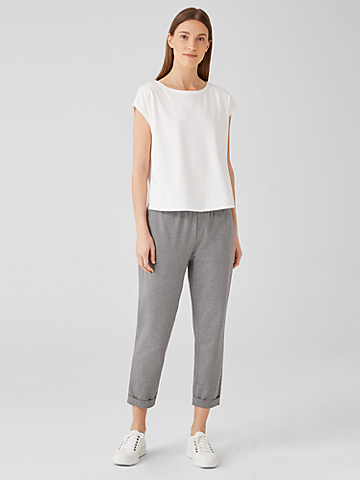 Heathered Organic Cotton Pant