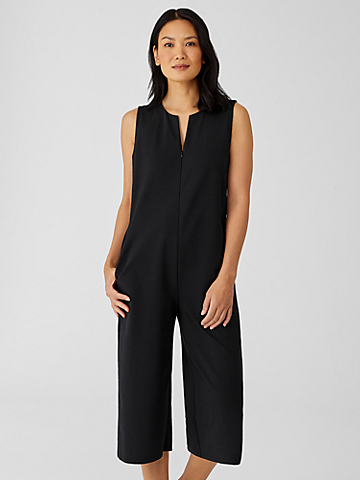Organic Cotton Ponte Jumpsuit