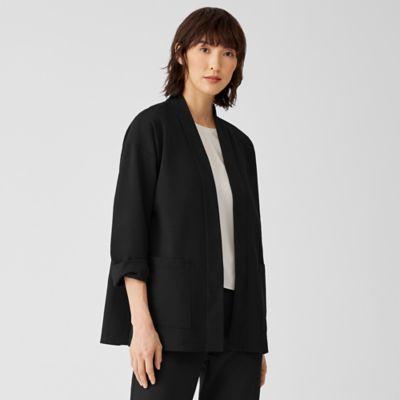 Organic Cotton Ponte Jacket