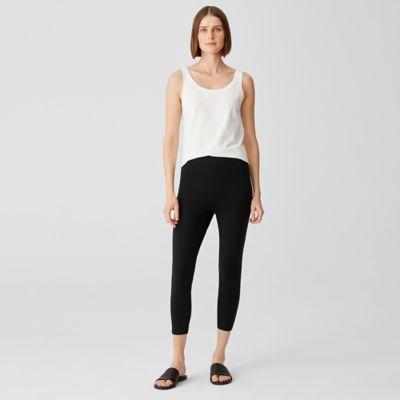 Lightweight Organic Cotton Jersey Leggings