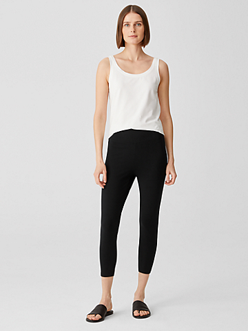 Lightweight Organic Cotton Jersey Leggings