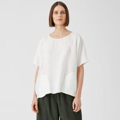 Organic Handkerchief Linen Top