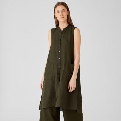 Organic Handkerchief Linen Long Shirt